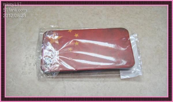 细节晒 复古风的中国国旗手机套 -细节晒 复古风的中国国