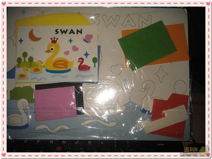 贝32款EVA手工制作贴画立体粘贴画 儿童3D手工创意贴纸拼图
