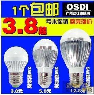 家用LED小灯泡