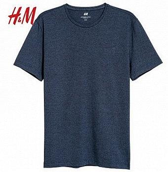 H&M HM0570002 男士圆领短袖T恤 *2件