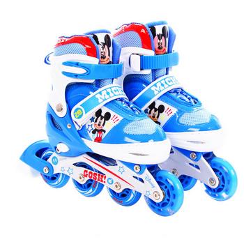 disney/迪士尼米奇 公主溜冰鞋轮滑鞋