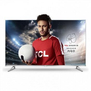 京东商城TCL 49英寸4K金属纤薄HDR LED液晶电视 49A660U
