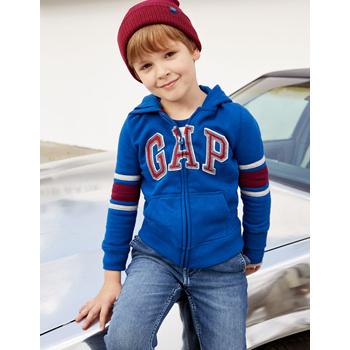 天猫双11预告:Gap 男童加绒卫衣连帽衫